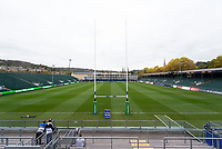 A general view of the Recreation Ground prior to the match. European Rugby Champions Cup match, between Bath Rugby and Benetton Rugby on October 14, 2017 at the Recreation Ground in Bath, England. Photo by: Patrick Khachfe / Onside Images