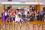 WEDDING ANNIVERSARY: Louis and Liz Heaphy, Killeen Road, Tralee (seated centre) having a great time celebrating their 30th wedding anniversary with a large group of family and friends at the Carlton hotel, Tralee on Saturday.