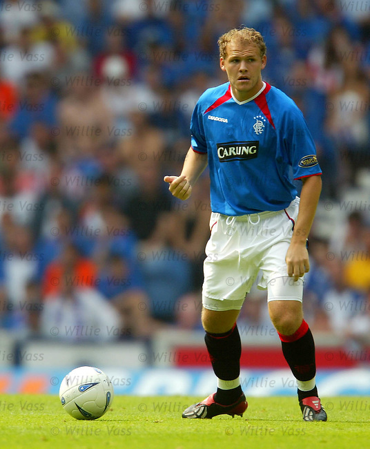 Robert Malcolm, Rangers.stock season 2003-04..pic willie vass