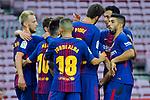 League Santander 2017/2018 - Game: 7.<br /> FC Barcelona vs UD Las Palmas: 3-0.