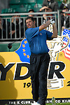 Ryder Cup 206 K Club, Straffan, Ireland..European Ryder Cup team player Lee Westwood tees off on the 4th hole during the morning fourballs session of the second day of the 2006 Ryder Cup at the K Club in Straffan, Co Kildare, in the Republic of Ireland, 23 September 2006...Photo: Eoin Clarke/ Newsfile.