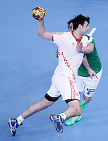 Croatia's Domagoj Duvnjak during 23rd Men's Handball World Championship preliminary round match.January 14,2013. (ALTERPHOTOS/Acero) 7NortePhoto