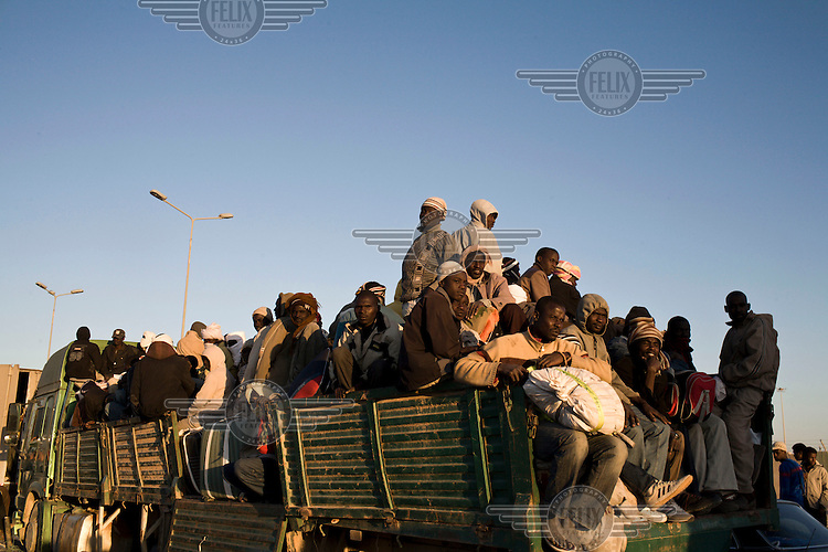 Trucks carrying Sudanese refugees trying to flee the fighting in Misurata were held at the entrance to the port as the authorities denied them access to Qatar sponsored boats that were evacuating only Arab 3rd Country Nationals. On 17 February 2011 Libya saw the beginnings of a revolution against the 41 year regime of Col Muammar Gaddafi.