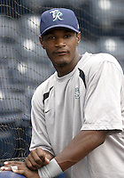 Tacoma Rainers outfielder Adam Jones during the Triple-A All-Star Game at Fifth Third Field on July 12, 2006 in Toledo, Ohio.  (Mike Janes/Four Seam Images)