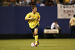 3 August 2004: Steve Finnan. Liverpool of the English Premier League defeated AS Roma of Italy's La Liga 2-1 at Giants Stadium in the Meadowlands Complex in East Rutherford, NJ in a ChampionsWorld Series friendly match..