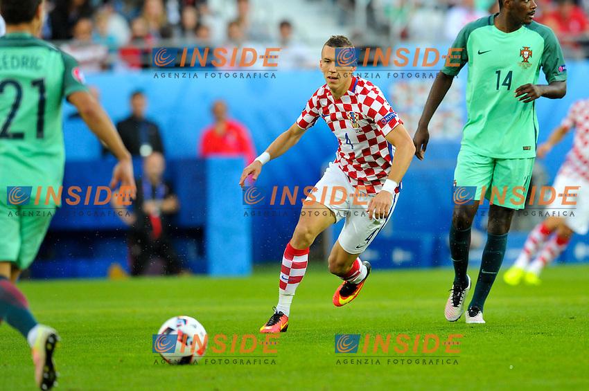 04 Ivan Perisic (cro) <br /> Lens 256-06-2016 Stade Bollaert-Delelis Football Euro2016 Croatia - Portugal / Croazia - Portogallo of 16. Foto Philippe Lecoeur / Panoramic / Insidefoto