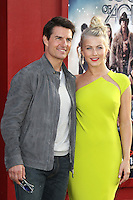 Tom Cruise and Julianne Hough at the premiere of Warner Bros. Pictures' 'Rock of Ages' at Grauman's Chinese Theatre on June 8, 2012 in Hollywood, California. © mpi20/MediaPunch Inc. NORTEPHOTO.COM