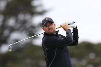 Marc Leishman on the 2nd fairway during the Second Round - Foursomes of the Presidents Cup 2019, Royal Melbourne Golf Club, Melbourne, Victoria, Australia. 13/12/2019.<br /> Picture Thos Caffrey / Golffile.ie<br /> <br /> All photo usage must carry mandatory copyright credit (© Golffile | Thos Caffrey)