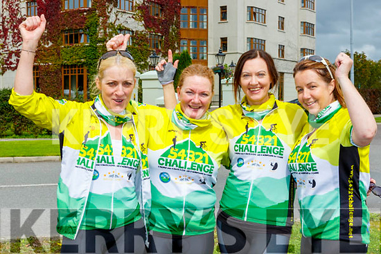 The Cromane 4 team that completed the 54321 CHallenge in Killarney on Sunday Ann Foley, Maureen O'Sullivan-Dennehy, Irene Heffernan and Maggie Teahan