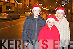 Lucia, Tessa and Eva Collins from Abbeyfeale were in Town on Sunday night to watch Santa turn the Christmas lights...   Copyright Kerry's Eye 2008