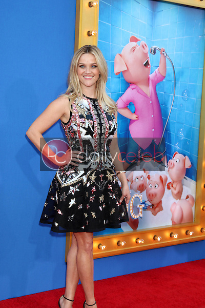 """Reese Witherspoon<br /> at the """"Sing"""" Premiere, Microsoft Theater, Los Angeles, CA 12-03-16<br /> David Edwards/DailyCeleb.com 818-249-4998"""