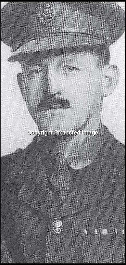 BNPS.co.uk (01202 558833)Pic: BNPS<br /> <br /> Thomas Bradford.<br /> <br /> The poignant bravery medals of the only surviving member of a 'Band of Brothers' from the First World War have sold for £8,000.<br /> <br /> Sir Thomas Bradford was one of the 'Bradford Boys' - four siblings who went on to become the most decorated family to serve in the Great War.<br /> <br /> Sadly, his three siblings were all killed in action just 11 months apart. Between them the brave quartet won two Victoria Crosses, one Distinguished Service Order and two Military Crosses.<br /> <br /> Sir Thomas's DSO medal group has sold at Dix Noonan Webb auctions for £8,000.