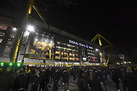 Panoramic of the outside of the stadium <br /> Dortmund 18/02/2020 BVB Stadion <br /> Football Uefa Champions League 2019/2020 <br /> Round of 16 1st leg <br /> Borussia Dortmund - Paris Saint Germain <br /> Photo Bibard/Panoramic/Insidefoto