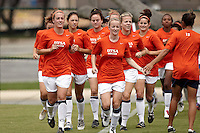 SAN ANTONIO, TX - SEPTEMBER 19, 2010: The University of Houston Cougars vs. the University of Texas at San Antonio Roadrunners Women's Soccer at Roadrunner Field. (Photo by Jeff Huehn)