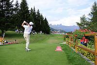 Padraig Harrington Swing Omega European Masters 2013