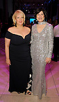 Cissy Abel Smither and Ellie Francisco at the Big Bang Ball at the Houston Museum of Natural Science Saturday March  04,2017. (Dave Rossman Photo)