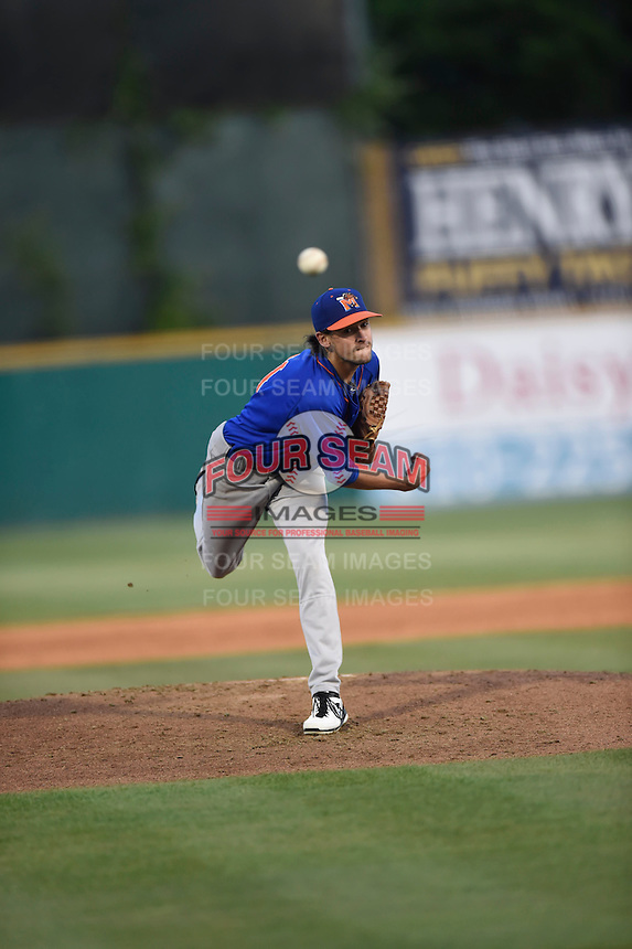 ***Temporary Unedited Reference File***Midland RockHounds starting pitcher Joel Seddon (11) during a game against the San Antonio Missions on April 22, 2016 at Nelson W. Wolff Municipal Stadium in San Antonio, Texas.  San Antonio defeated Midland 8-4.  (Mike Janes/Four Seam Images)