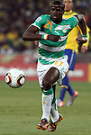 20 JUN 2010: Emmanuel Eboue (CIV). The Brazil National Team defeated the C'ote d'Ivoire National Team 3-1 at Soccer City Stadium in Johannesburg, South Africa in a 2010 FIFA World Cup Group G match.