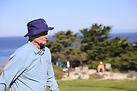 Bill Murray walks off the 4th tee at Spyglass Hill during Thursday's Round 1 of the 2018 AT&amp;T Pebble Beach Pro-Am, held over 3 courses Pebble Beach, Spyglass Hill and Monterey, California, USA. 8th February 2018.<br /> Picture: Eoin Clarke | Golffile<br /> <br /> <br /> All photos usage must carry mandatory copyright credit (&copy; Golffile | Eoin Clarke)
