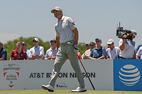 Ryan Palmer (USA) watches his tee shot on 3 during round 2 of the AT&amp;T Byron Nelson, Trinity Forest Golf Club, at Dallas, Texas, USA. 5/18/2018.<br /> Picture: Golffile | Ken Murray<br /> <br /> <br /> All photo usage must carry mandatory copyright credit (&copy; Golffile | Ken Murray)