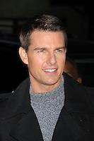 Tom Cruise en el Teatro Ed Sullivan para una aparici&oacute;n en Late Show con David Letterman en New York City. *December*19*2011. <br /> (credito*foto*&copy;mpi/MediaPunch/NortePhoto*)