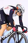 Yumi Kajihara (JPN), <br /> AUGUST 29, 2018 - Cycling - Track : <br /> Women's Omnium point race 4/4 <br /> at Jakarta International Velodrome <br /> during the 2018 Jakarta Palembang Asian Games <br /> in Jakarta, Indonesia. <br /> (Photo by Naoki Nishimura/AFLO SPORT)