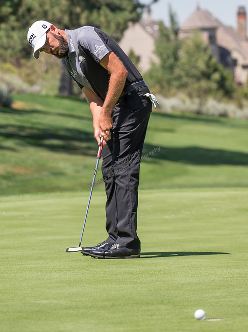 A photograph taken during the Barracuda Championship PGA golf tournament at Montrêux Golf and Country Club in Reno, Nevada on Saturday, July 27, 2019.