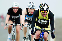 27 MAR 2011 - LOUGHBOROUGH, GBR - Dermot Galea - British Elite and Junior Mens Duathlon Championships .(PHOTO (C) NIGEL FARROW)