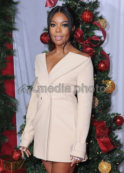 "03 November 2016 - Westwood, California. Gabrielle Union. Premiere Of Universal's ""Almost Christmas"" held at Regency Village Theatre. Photo Credit: Birdie Thompson/AdMedia"