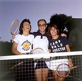 Elton John; Billy Jean King; Helen Redy; 1975 <br /> Photo Credit: James Fortune/AtlasIcons.com