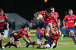 NELSON, NEW ZEALAND - OCTOBER 19:  Mitre 10 Cup Semi-Final  Tasman v Canterbury at Trafalgar Park Nelson  on October 19 2018 in Nelson, New Zealand. (Photo by:  Shuttersport Limited)
