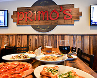 Primo's Pizzeria and Pub Danville Menu Shoot.  Bay Area Restaurant Photography by Luke George 2019.  More info at www.primosdanville.com