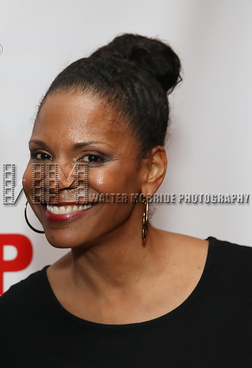 "Audra McDonald attends the Off-Broadway Opening Night Premiere of  ""Jerry Springer-The Opera"" on February 22, 2018 at the Roundabout Rehearsal Studios in New York City."