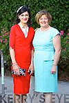 Michelle Counihan and Breda Counihan (Tralee) pictured at the Rose of Tralee fashion show in the Dome on Sunday night.