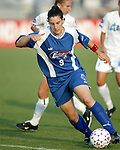 Birgit Prinz at SAS Stadium in Cary, North Carolina on 7/4/03 during a game between the Carolina Courage and Atlanta Beat. The Courage won 3-2.