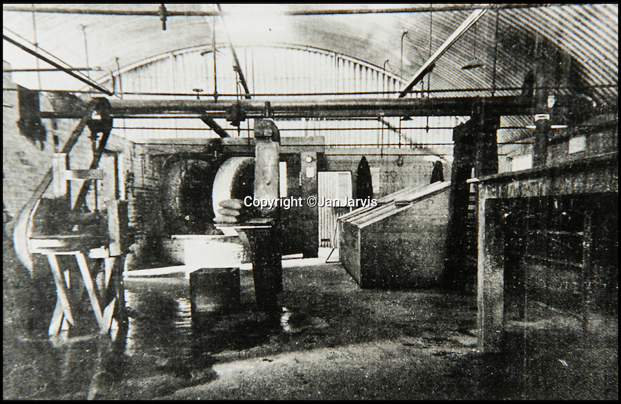 BNPS.co.uk (01202 558833)<br /> Pic: JanJarvis/BNPS<br /> <br /> The purifying house of the gunpowder factory back in the 1860's.<br /> <br /> A lot of bang for your buck...<br /> <br /> A former royal hunting lodge that went on to become a world-renowned gunpowder factory has exploded onto the property market.<br /> <br /> Eyeworth Lodge, in the picturesque surroundings of Fritham in the New Forest, was the perfect isolated place for the risky business that saw lots of men injured or even killed, but it is now a stunning country home for anyone who wants to escape to the country.<br /> <br /> The seven-bedroom home, which has eight acres of land, is on the market with Strutt & Parker for £4million.