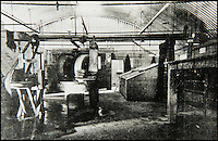 BNPS.co.uk (01202 558833)<br /> Pic: JanJarvis/BNPS<br /> <br /> The purifying house of the gunpowder factory back in the 1860's.<br /> <br /> A lot of bang for your buck...<br /> <br /> A former royal hunting lodge that went on to become a world-renowned gunpowder factory has exploded onto the property market.<br /> <br /> Eyeworth Lodge, in the picturesque surroundings of Fritham in the New Forest, was the perfect isolated place for the risky business that saw lots of men injured or even killed, but it is now a stunning country home for anyone who wants to escape to the country.<br /> <br /> The seven-bedroom home, which has eight acres of land, is on the market with Strutt &amp; Parker for &pound;4million.
