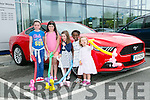 l-r  Emma Gorr, Laura Gorr, Clodagh Lenihan, Sennait Foster and Charlotte Moran at the Kerry Motor Works Open Day on Saturday