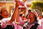 Cabalgata de las Fiestas de la Vendimia. Jumilla. Murcia.