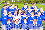 SKILLS: The Laune Rangers team that showed their skills in the girls U-12 football Community Games in Beaufort on Monday were front l-r: Larissa Gamble, Megan Gamble, Rebecca Murray and Christine Croke. Middle l-r: Marie Rafferty, Maeve Johnston, Sarah O'Connor, Allanah Piggott, Katie Cotter and Katlyn Coffey. Back l-r: Fiona Brosnan, Leah Moriarty, Noreen O'Sullivan, Ciara O'Sullivan, Muireann Arthurs, Norina O'Callaghan, Allanah Regan, Caoimhe Foley, Michelle Moriarty and Niamh Twiss.   Copyright Kerry's Eye 2008