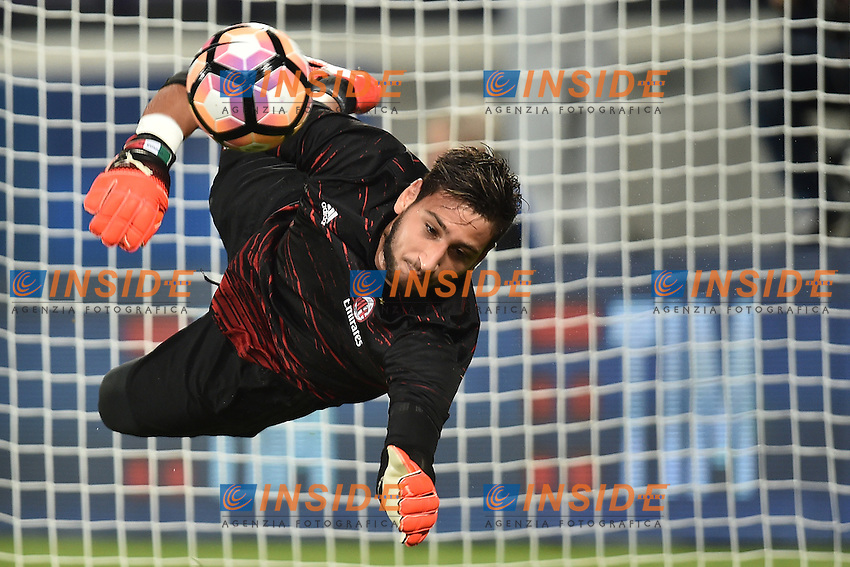 Gianluigi Donnarumma Milan <br /> Firenze 25-09-2016  Stadio Artemio Franchi <br /> Campionato Serie A Fiorentina - Milan <br /> Foto Andrea Staccioli / Insidefoto