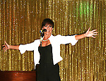 As The World Turns Colleen Zenk Pinter performs during We Love Soaps Weekend on  May 21 and May 22 2010 at Villa Roma Resort in Callicoon, New York. (Photo by Sue Coflin/Max Photos)