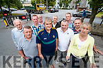 Taxi drivers pictured at Kerry County Council on Tuesday last were l-r: Brendan Flynn, Pat Conway, Anthony Dineen, Paddy Hurley, Terry Boyle, James Daly, Brendan O'Sullivan, Bertie Carmody, Kevin Coffey and Helen Hurley.