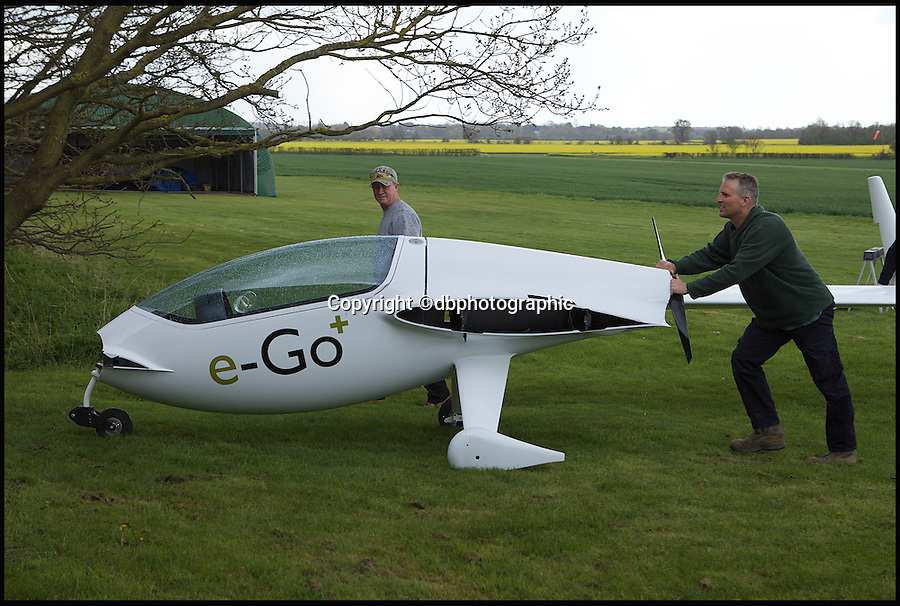 BNPS.co.uk (01202 558833)<br /> Pic: dbphotographic/BNPS<br /> <br /> Ultimate Airfix...<br /> <br /> This James Bond style aircraft can be packed up and stored in a garage then used for the morning commute. <br /> <br /> After seven years in production the plane has finally rolled out and gone to its first buyer. <br /> <br /> It's priced at £60,000, the price of a BMW M3, and only costs £15 per hour to run, around 90% less than most similarly sized planes.<br /> <br /> The truly unique thing about the pint-sized plane is that its wings and canard can be detached, meaning it can easily fit in to a domestic garage, avoiding the costs of owning a hangar.