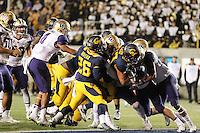 Berkeley, CA - November 5, 2016:  Cal Bears Football vs Washington Huskies at California Memorial Stadium, Final Score:  Cal Bears 27, Washington Huskies 66.