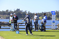 at Pebble Beach Golf Links during Saturday's Round 3 of the 2017 AT&amp;T Pebble Beach Pro-Am held over 3 courses, Pebble Beach, Spyglass Hill and Monterey Penninsula Country Club, Monterey, California, USA. 11th February 2017.<br /> Picture: Eoin Clarke | Golffile<br /> <br /> <br /> All photos usage must carry mandatory copyright credit (&copy; Golffile | Eoin Clarke)
