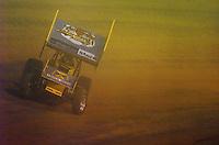 .Donny Schatz drives through the dust......ref: Digital Image Only