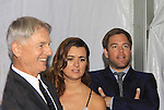 NCIS Cast - Michael Weatherly - Cote de Pablo - Mark Harmon at the CBS Upfront on May 15, 2013 at Lincoln Center, New York City, New York. (Photo by Sue Coflin/Max Photos)