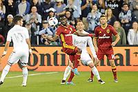 Kansas City, Kansas - April 2, 2016: Real Salt Lake defeated Sporting Kansas City 2-1 at Children's Mercy Park.