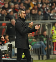 Trainer Adi Hütter (Eintracht Frankfurt) - 18.12.2019: Eintracht Frankfurt vs. 1. FC Koeln, Commerzbank Arena, 16. Spieltag<br /> DISCLAIMER: DFL regulations prohibit any use of photographs as image sequences and/or quasi-video.